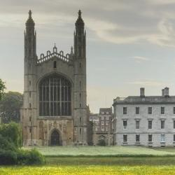 King's College meadow, photo by Sir Cam