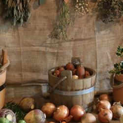 Fresh produce on a table